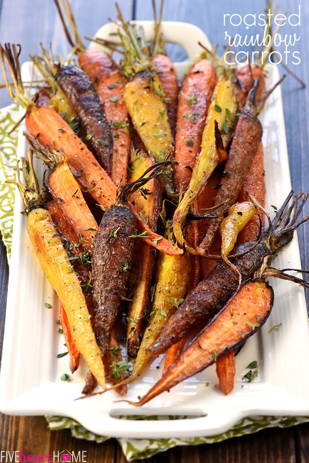 Rainbow Carrots Recipe
