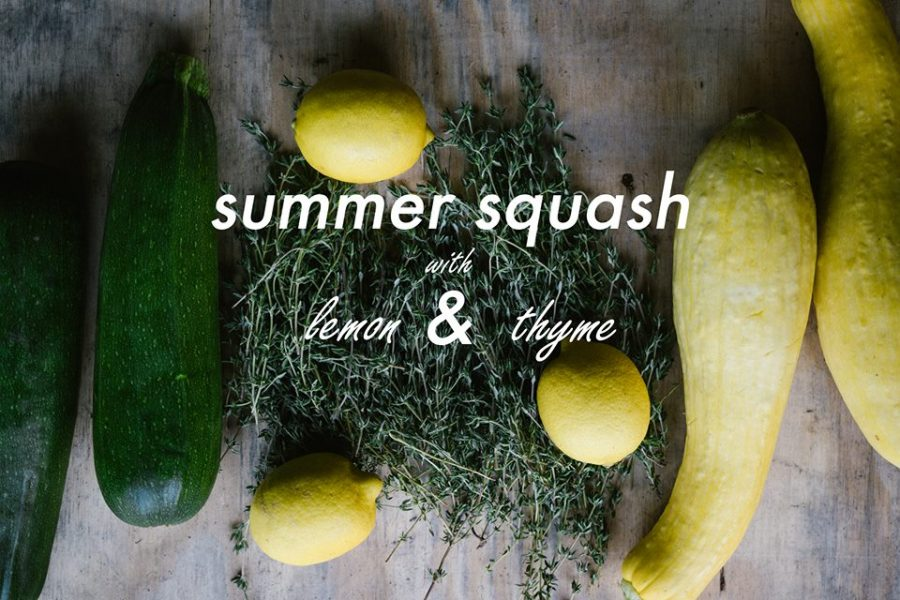 Slow-Cooked Summer Squash